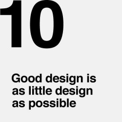 10 principles of a GOOD DESIGN