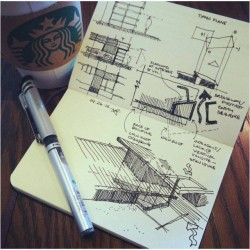 Architect's free time sketch