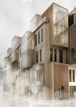 New Apartment Building in UNESCO World Heritage Site in Riga by United Riga Architects