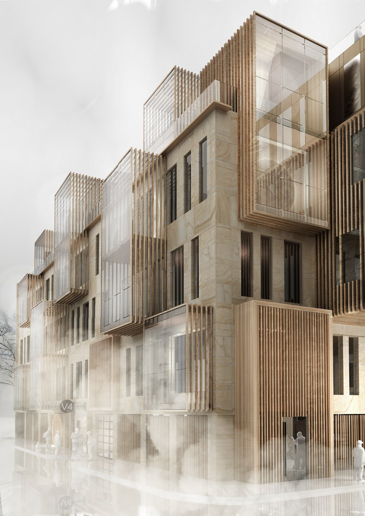 Awesome New Apartment Building In UNESCO World Heritage Site In Riga By United Riga  Architects