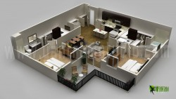 Modern 3D Floor Plan Design