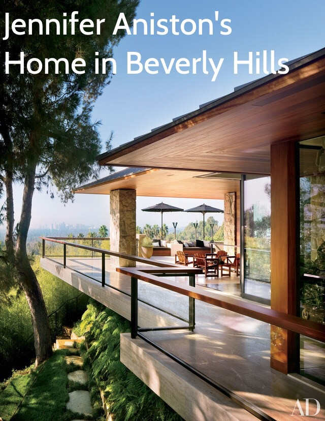 Jennifer Aniston'Home in Beverly Hills