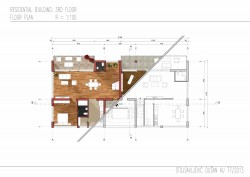 Residential building // Floor plan