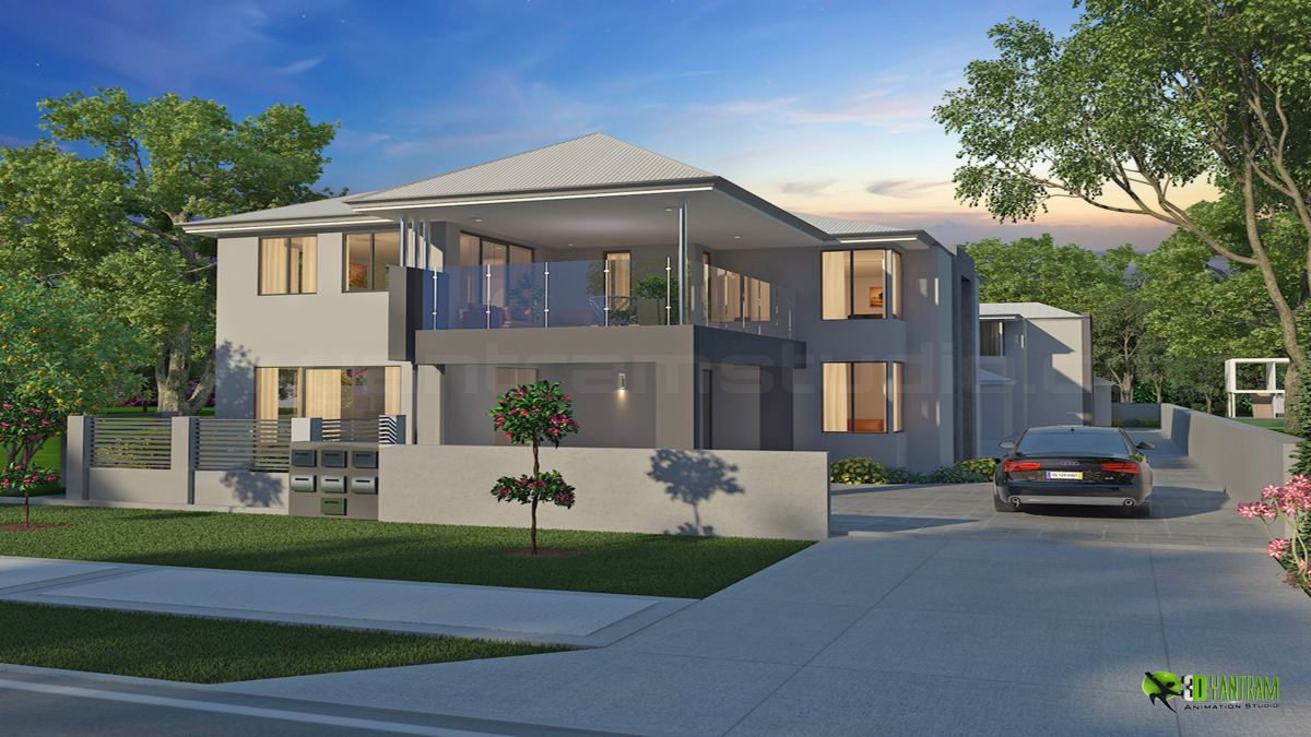 classic exterior 3d home design uk - 3d Home Design