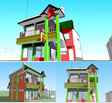 trial with sketchup