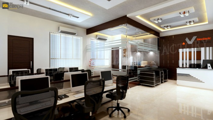 3d office interior design arch for Office design 3d