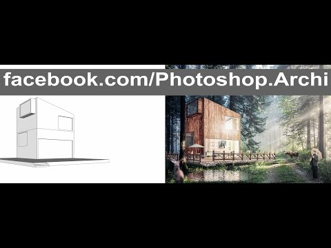 Photoshop Post Production | Architecture Visualization Rendering P.2 – YouTube