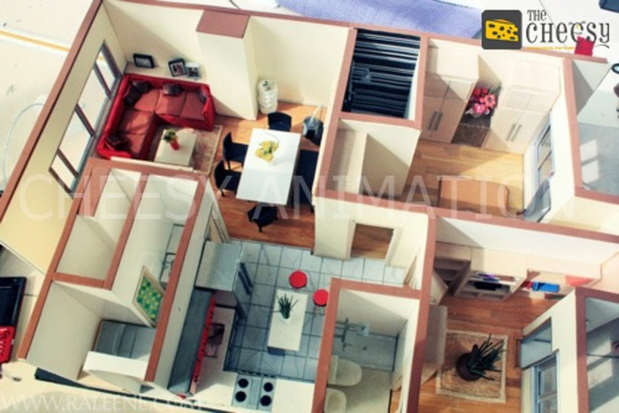 Architectural Interior Scale Models ARCHstudent Awesome Images Of Interior Design Model