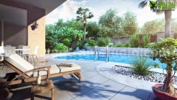 Modern 3D Exterior Pool Design Grafton