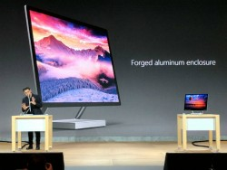 Microsoft Unveils the Surface Studio, a 28-Inch Touch-Screen Drawing Board
