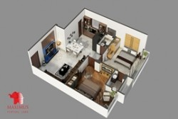 Interactive 3D Floor Plan