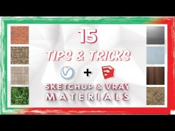 Top 15 Tips and Tricks for Sketchup and Vray Materials – YouTube