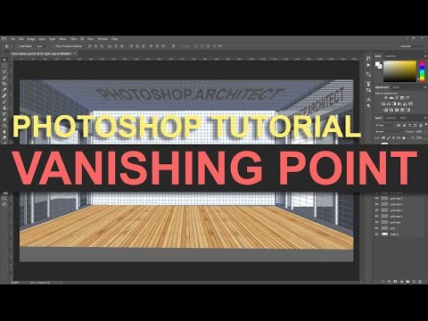 Photoshop Tutorial | Vanishing Point Filter – YouTube