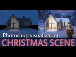 Photoshop visualization | CHRISTMAS SCENE – YouTube