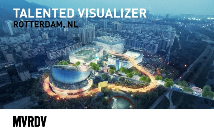 Job – MRDV is hiring TALENTED VISUALIZER