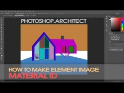 [Basic tutorial] How to make material ID image – YouTube
