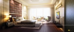 3D Bedroom Interior Rendering Services
