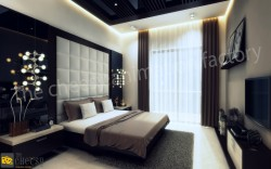3D Bedroom Architectural Design