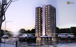 3D Residential Apartment Rendering