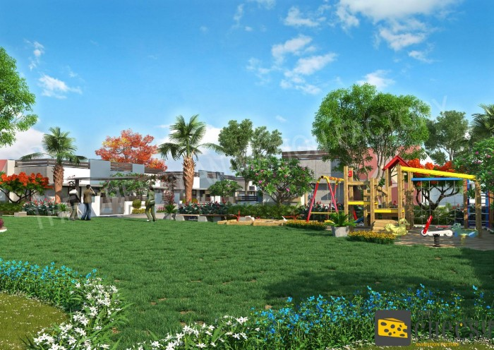 Residential Township 3D Rendering