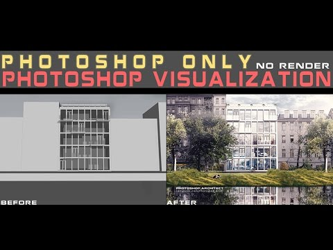 Photoshop Visualization Work | NO RENDER | PHOTOSHOP ONLY – YouTube