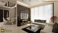 3D interior Architectural View