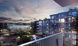 3D Exterior Residential Apartments