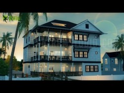 Photo realistic Architectural Walkthrough Animation for Beach House Property in Florida