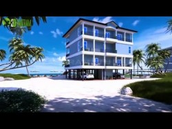 Beach House Exterior – Interior Architectural Visualization | Walkthrough Animation firm
