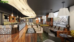 A Good Design for 3D Interior Rendering Bar Kirklees