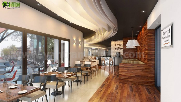An Ideas for Bar 3D Interior Rendering Services Manchester