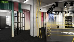 A Fitness Motivation Gym Interior View from Interior Design Firms Denver
