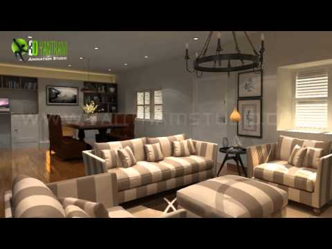3D Interior Walkthrough Animation Design for Home