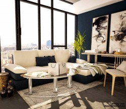 standard Living room 3D interior