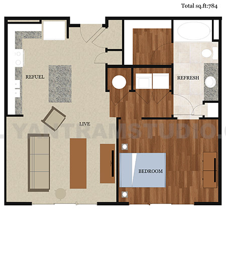 Ideas for 2D Home Floor Plan Design