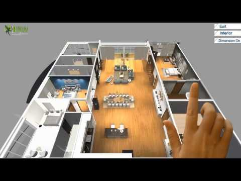 Virtual Reality Floor Plan Design Development For VR Glasses Am
