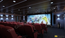 3D theater interior Design