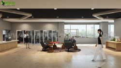 Amazing Office Waiting Area interior concept drawings Ideas