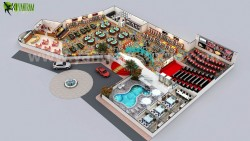 Casino 3D Floor Design Columbus