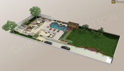 3D Villa Floor Plan Creation Studio