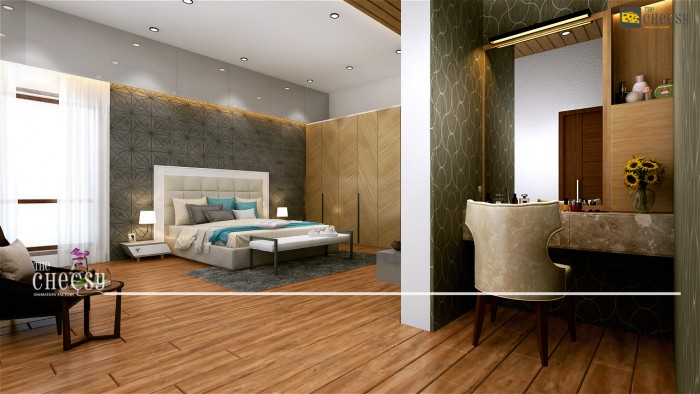 3D Interior Home Rendering