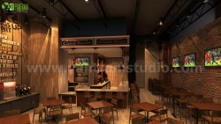 Commercial Unique Bar Ideas by Yantram 3d interior designers Melbourne, Australia