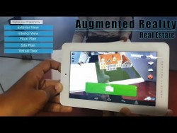 Interactive Augmented Reality Application for Real Estate