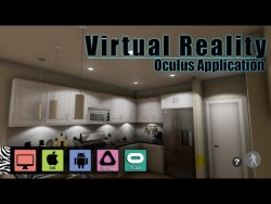 Virtual Reality Oculus Application developed in Unreal (UE4)