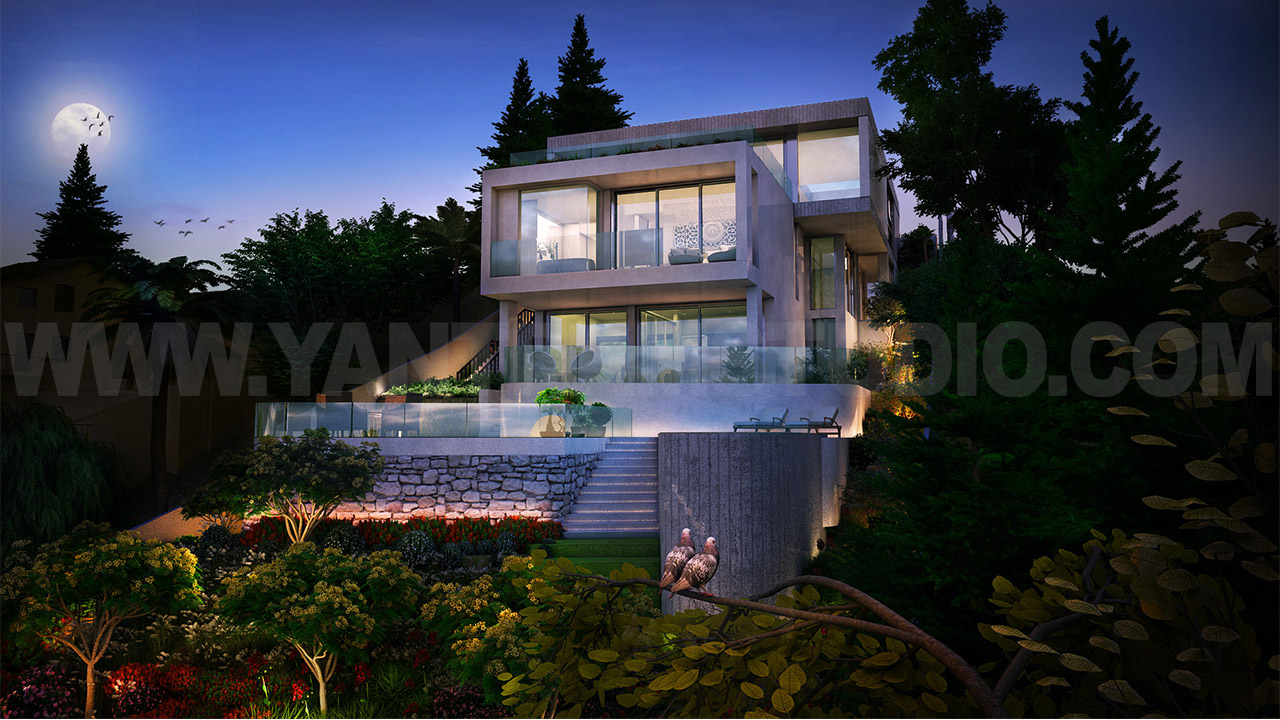 3d architectural dream house walk through animation vanc for Dream house 3d