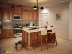 Kitchen 3D Interior Rendering