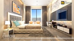 3D Interior Bedroom design
