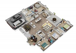 Best High quality 3D Floor Plan Ideas
