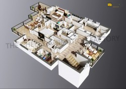 Best High quality 3D Floor Plan Ideas 2018