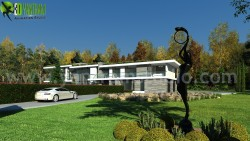 Modern Style House Design Ideas & Pictures by Yantram architectural design studio – Bo ...